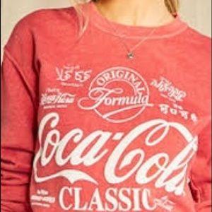 Forever 21 Coca Cola Sweatshirt
